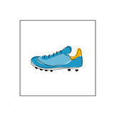 Blue Running Shoe