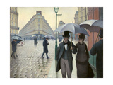 Caillebotte  Paris Street  a Rainy Day