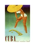 Cuba Ideal Vacation Giclée