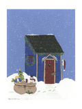 Blue Outhouse