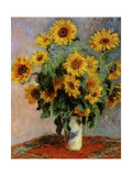Bouquet de tournesols Giclée