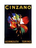 Cinzano Vermouth Torino Giclée