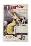 Champagne Scohyers Giclée