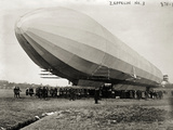 Blimp  Zeppelin No 3  on Ground