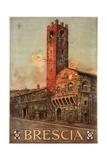 Brescia Italy Travel Poster