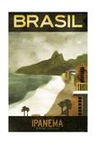 Brasil Ipanema Giclée