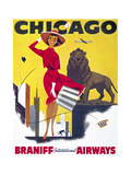 Chicago  Braniff International Airways