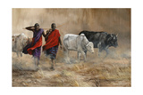 Dusty Cattle Drive
