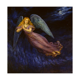 Good Night Angel Giclée par Edgar Jerins
