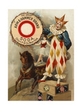 Clown  Horse  Acrobat and Arm and Hammer Brand Soda