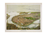 Boston from the Air  1877