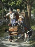 Help on the Way Giclée par Bob Byerley