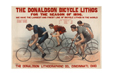 Donaldson Bicycle Lithos for 1896 Season