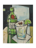 Gin and Tonic Giclée par Tim Nyberg