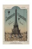 Eiffel Exposition Giclée