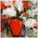 Vase rouge