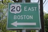 Route 20 East  Boston  MA
