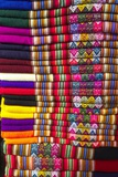 Colorful Peruvian Blankets