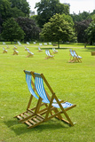 Deck Chairs in St James Park