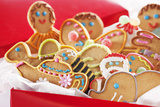 Decorated Holiday Cookies