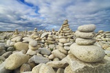 Rocks at Pebble Beach  Trebeurden  Cote De Granit Rose  Cote D'armor  Brittany  France
