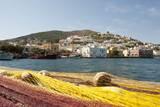 View of Agia Marina  Leros  Dodecanese  Greece