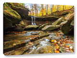 Blue Hen Falls 3  Gallery-Wrapped Canvas