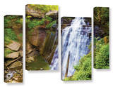 Brandywine Falls 2  4 Piece Gallery-Wrapped Canvas Staggered Set