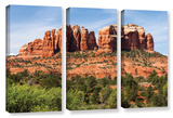 Sedona 2  3 Piece Gallery-Wrapped Canvas Set
