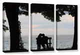 Silhouette  3 Piece Gallery-Wrapped Canvas Set