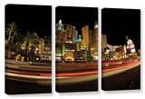 New York  New York  3 Piece Gallery-Wrapped Canvas Set
