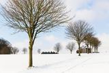 Winter Scene by a Chapel