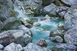 Rock Formation in Mountain Stream  Garnitzenklamm  Hermagor  Carinthia  Austria