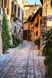 Street in Spello  Italy