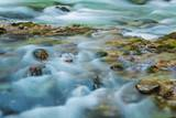 Mountain Brook with Rocks  Vintgar Gorge  Bled  Triglav National Park  Julian Alps  Slovenia