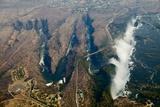 Aerial of Victoria Falls
