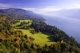 Fall Colors Add Beauty to Cape Horn  Columbia River Gorge National Scenic Area  Washington State