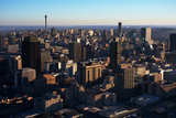 Aerial View of Downtown Johannesburg