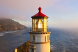 Heceta Head Lighthouse  Oregon Coast  Pacific Ocean  Pacific Northwest