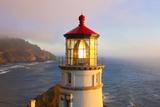 Heceta Head Lighthouse  Oregon Coast  Pacific Ocean  Pacific Northwest