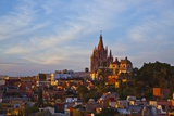Cathedral of San Miguel De Allende at Sunset