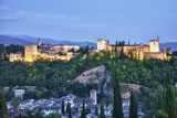 Evening Lights from the Alhambra Palace