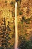 Evening Light on Multnomah Falls