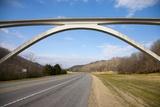 Natchez Trace Parkway Arched Bridge  Nashville  TN