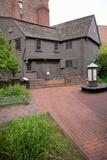 The Paul Revere House  Historic North End  Boston  MA