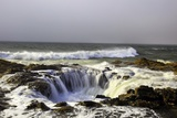 Ocean Storm along Cape Perpetua  Oregon Coast