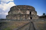Exterior of Temple of Quetzalcoatl