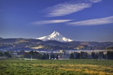 Mt Hood  Hood River Valley  Columbia River Gorge National Scenic Area  Oregon