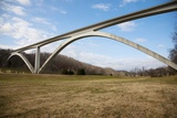 Natchez Trace Parkway Arched Bridge  Nashville  TN