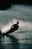 Water Skier in a Slalom Turn
